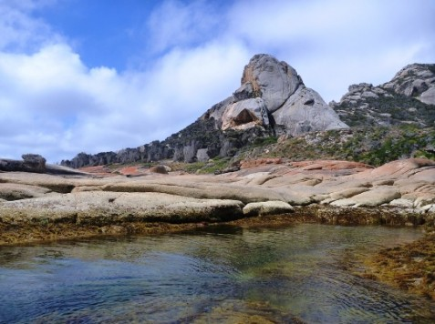 Old Mans Head, Killiecrankie Coast Flinders Island