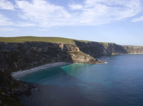 Spectacular coastline on Kangaroo Island