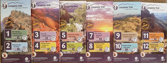 Larapinta Trail Map Package