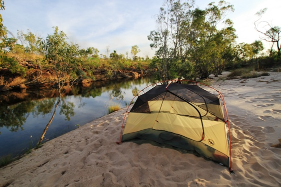 Freedom camping in Kakadu